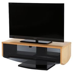 Buy Off The Wall Eclipse TV Stand for up to 55-inch TVs, Oak Online at johnlewis.com