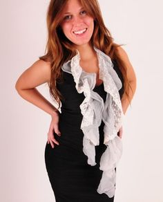 http://www.theclothingcove.com/Scarves-and-Wraps/Ribbon-Ruffle-Scarf/PABBABEDGBILOPKI/3135-3170/Product