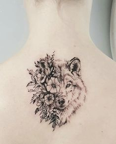 Impressive Wolf Tattoos 2018 — Best Tattoos for 2018 Ideas & Designs for You Wolf Tattoo Design, Tattoo Designs, Neue Tattoos, Body Art Tattoos, Sleeve Tattoos, Piercing Tattoo, Piercings, Wolf Tattoos, Wolf Face Tattoo