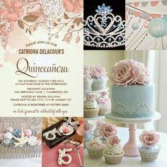 Pretty in Pastels | A Spring Floral Sweet Fifteen Quinceanera Theme
