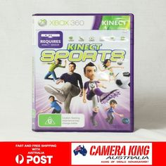 Kinect Sports for Xbox 360 PAL AUSTRALIA