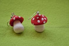Fimo earrings by MissLoony