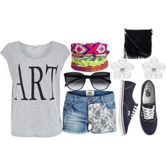"""""""Artsy Summer"""" by leahlouise17 on Polyvore"""