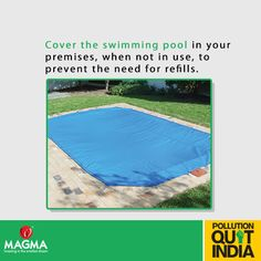 We all love our swimming pools, let's take care of it smartly. #MagmaPQI