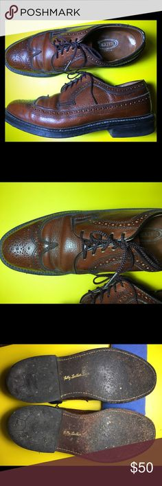 Men's Dexter Classic Leather Shoes Men's Dexter Leather shoes. Made in the USA. Size 8 1/2. Wing-Tip. Great condition. Make me an offer. 😎 Dexter Shoes Oxfords & Derbys