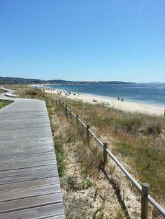 Playa de A Lanzada, península de O Grove #Riasbaixas. Galicia. Spain