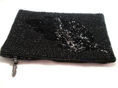 iPurse® SmartPhone Case-Purse/Wallet/Pouch -Black Leaf/ Phone case/Wallet/Evening purse/Pouch