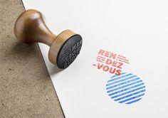 """Identité visuelle festival """"Rendez-vous en Croatie"""", Graphéine agency"""