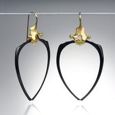 Quadrum - Gabriella Kiss racoon rib earrings