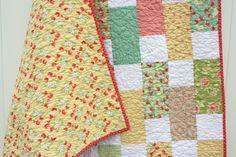 brick pattern quilt
