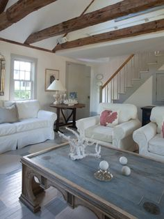 Home Decor Photos Airy Seaside Living Room From The Nest Nantucket