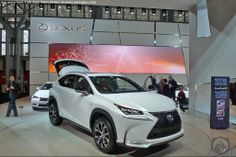 NEW YORK AUTO SHOW EXCLUSIVE! FIRST REAL-LIFE Pictures Of The 2015 Lexus NX 200t F SPORT! #ISawItFirstNX #LexusNX - AutoSpies Auto News