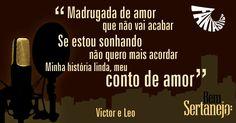 Fantástico - Bem Sertanejo - Victor e Leo