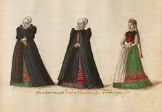 Costumes of the 16th century from Western and Eastern Europe, the Orient, the New World and Africa