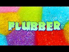 How to MAKE FLUBBER with only 2 ingredients- Super Easy Recipe - YouTube
