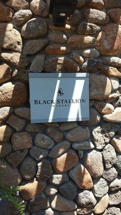 Our first stop wine tasting. This winery is on the site of a historic equestrian center, the Silverado Horseman's Center. After 2 years of renovations, they opened in 2007.