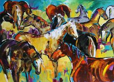 Laurie Pace  http://www.cfai.co/lauriepace/store/products/golden-clouds-gathering-by-texas-artist-laurie-pace