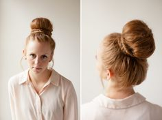 Garland of Grace Blog - Classy Fishtail Bun
