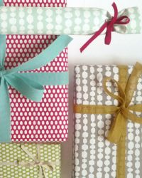 Oh So Beautiful Paper: gift wrap + tags