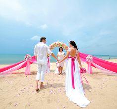 на пляже wedding  #travel