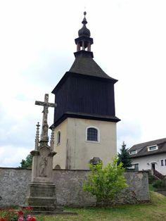 barokní zvonice v Trpíně