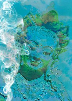 Buddha weekly green tara closeup buddha deity meditational tara blue green buddha print available at artdecadencesy fandeluxe Images