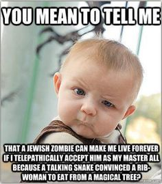 Atheist Baby says...