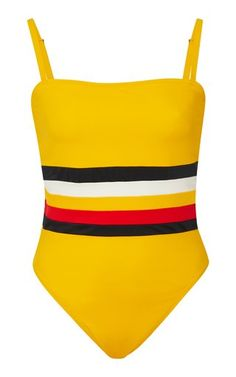 64f5eb0e19dc8 Malibu Striped One Piece by Solid   Striped X Re Done Bathing Suits One  Piece