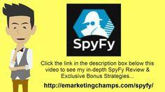 https://www.youtube.com/watch?v=JRgbM85e4-s SpyFy Review