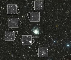 Dragonfly Telephoto Array, Centered on M101, Reveals Seven Previously Unseen Dwarf Galaxies
