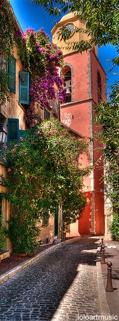Saint Tropez, France.UN ENCANTO DE CALLE.                                                                                                                                                                                 Más