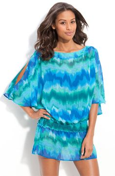 Cute beach cover up from W swimwear at Nordstrom