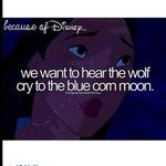 Because of Disney- Pocahontas