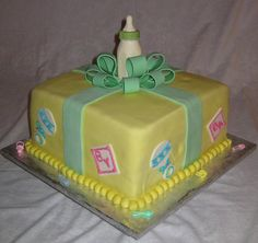 Image Detail for - Baby Shower Cakes - Ideas and Pictures