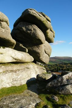 Pew Tor A great place for stunning views all around. Pew Tor is in South Devon, on Dartmoor, near Tavistock, England. By Mark A Coleman   Flickr - Photo Sharing!