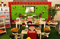 Ladybugs Birthday Party Ideas | Photo 4 of 20 | Catch My Party