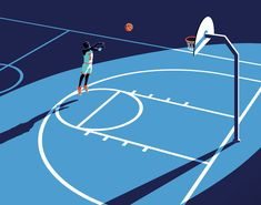 OMNI on Behance Behance, Basketball Art, Graphic Design, Movie Posters, Illustration Styles, Film Poster, Film Posters