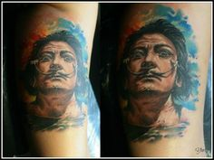 Realism tattoo on side by Yuriy Dmitriev
