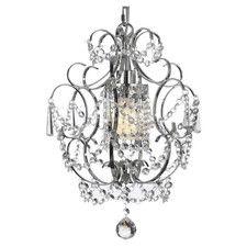 Versailles 1 Light Crystal Chandelier