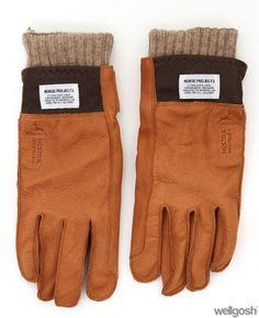 Norse Projects Iver Gloves Brown (£45.00) - Svpply
