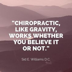 Well said Dr. Sid E. Williams, well said! Chiropractic Quotes, Appreciate You, Appreciation, Motivational Quotes, Believe, Sayings, Bones, Instagram Posts, Texas