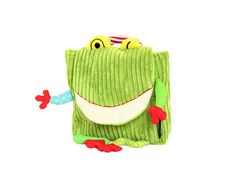 The Frog Backpack – Green from Les Deglingos School - (Save