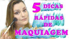 5 DICAS RAPIDAS DE MAQUIAGEM | MARCELLA ALMEIDA