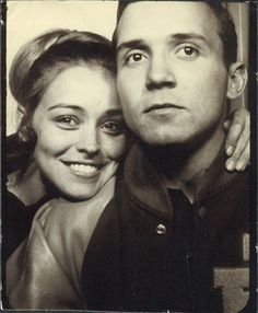Vintage Photobooth. I always wonder where the folk in these photos are now.