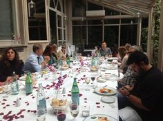 Our fam trip starts with a lunch at Villa Medici..simply spectacular!!!! Thanks Mr. Gaetano Torino!!