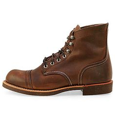 Red Wing 6 Inch Iron Ranger Mens 8111 Amber Harness Leather Boots Shoes Size 9.5