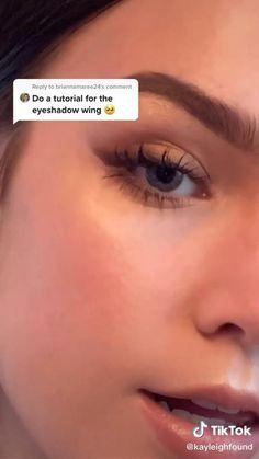 Cute Makeup Looks, Makeup Looks Tutorial, Makeup Eye Looks, Eye Makeup Art, Pretty Makeup, Skin Makeup, Eyeshadow Makeup, Beauty Makeup, Eyeliner