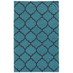 Pantone Universe Matrix Flat-weave Scalloped Lattice Rug