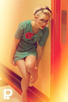 Vintage Hipster Pin-Ups - 'Phocal Point Photography' Shoots a Retro-Look Spread (GALLERY)