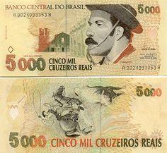 Brazil 5000 Cruzeiros Reais (1993)